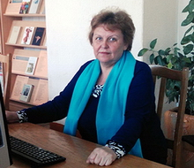 Шостак Людмила Владимировна, заведующая библиотекой Городокского государственного аграрно-технического колледжа
