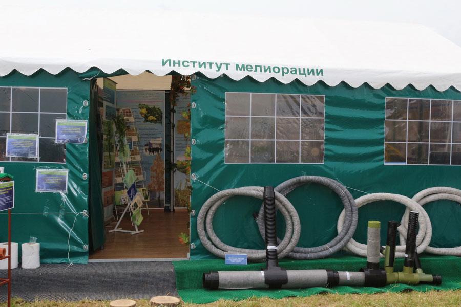 Институт мелиорации на БЕЛАГРО-2014, ОАО Гастелловское, 3-8 июня 2014 г.