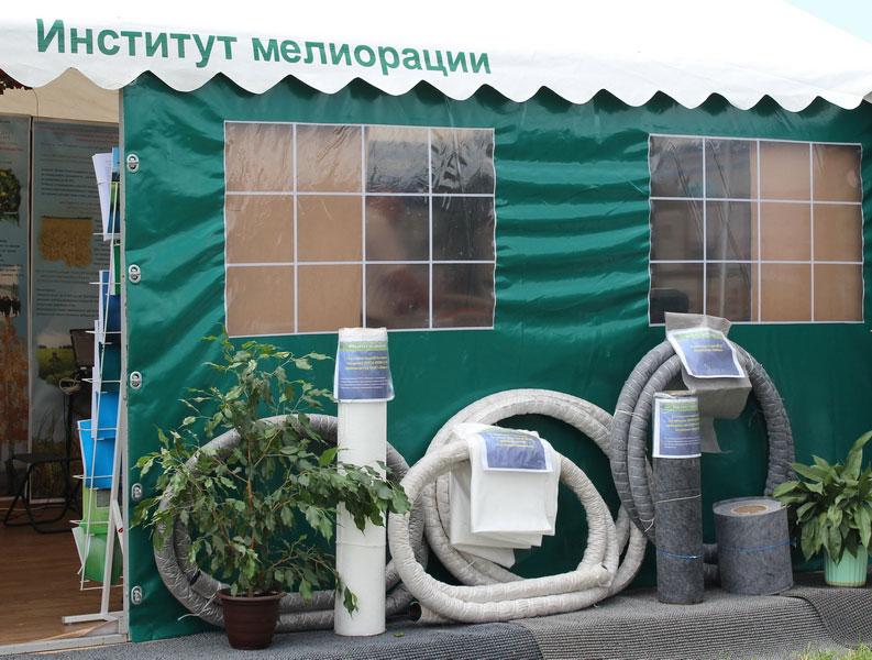 Институт мелиорации на БЕЛАГРО-2013, ОАО Гастелловское, 4-9 июня 2014 г.