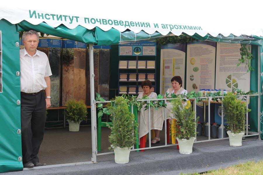 Институт почвоведения и агрохимии на БЕЛАГРО-2014, ОАО Гастелловское, 3-8 июня 2014 г.