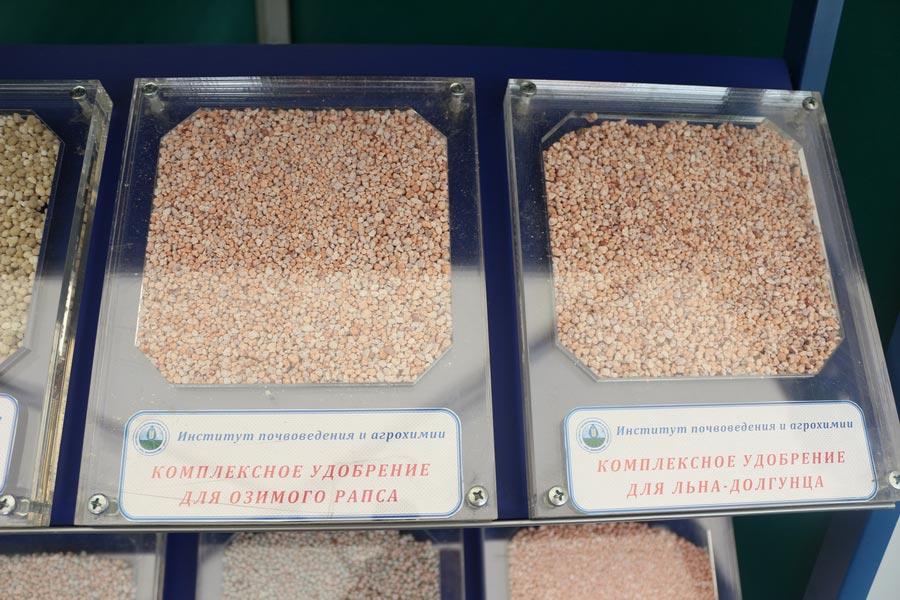 Комплексные удобрения для озимого рапса и льна-долгунца, разработанные в Институте почвоведения и агрохимии