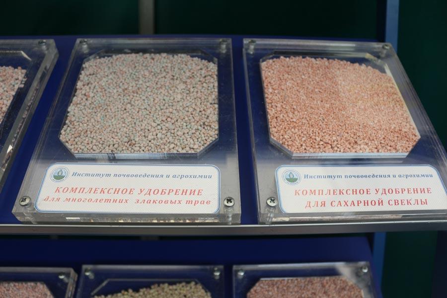 Комплексные удобрения для многолетних злаковых трав и для сахарной свеклы, разработанные в Институте почвоведения и агрохимии