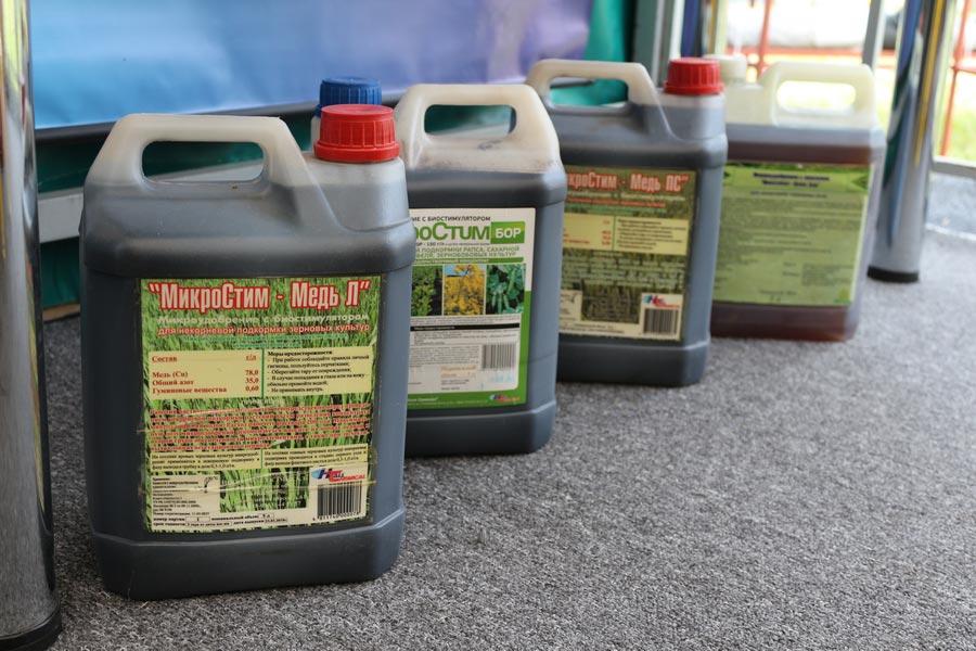 Жидкие комплексные удобрения МикроСтим, разработанные в Институте почвоведения и агрохимии