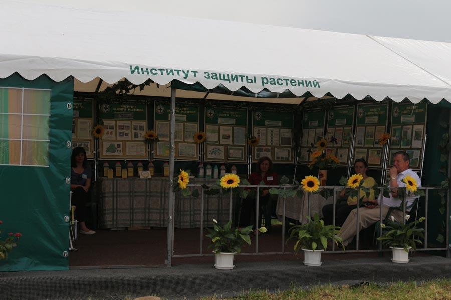Институт защиты растений на БЕЛАГРО-2014, ОАО Гастелловское, 3-8 июня 2014 г.