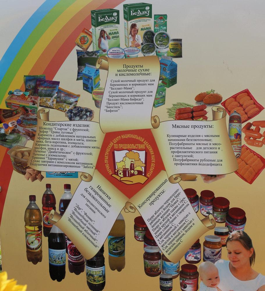Научно-практический центр Национальной академии наук Беларуси по продовольствию. Продукты функционального назначения