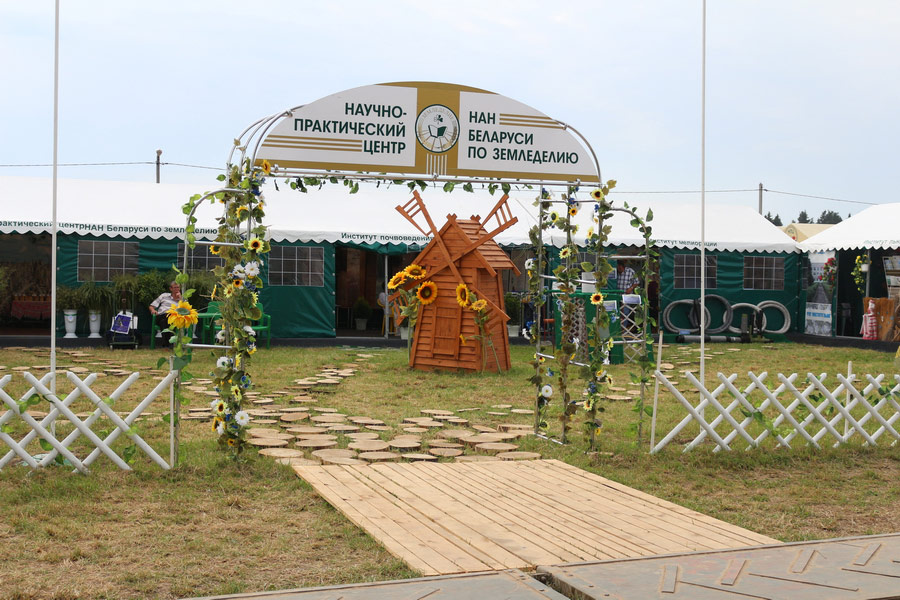 Научно-практический центр НАН Беларуси по земледелию, ОАО Гастелловское, 3-8 июня 2014 г.
