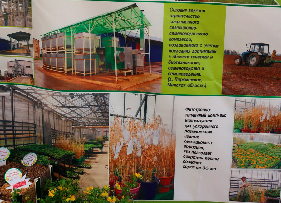 Научно-практический центр НАН Беларуси по земледелию на БЕЛАГРО-2016, 7-11 июня 2016 г.
