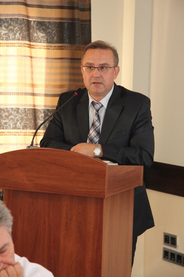 фото участника пленарного заседания