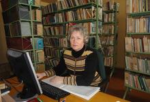 Дмитриева Татьяна Васильевна, заведующая библиотекой Опытной научной станции по птицеводству