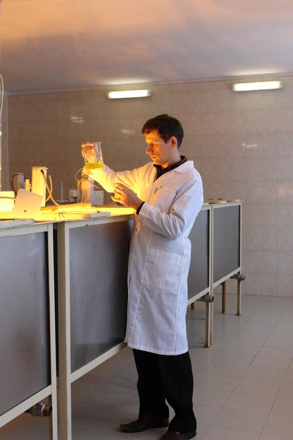 Цех по производству биологически активной добавки - суспензии хлореллы. Исследования Опытной научной станции по птицеводству