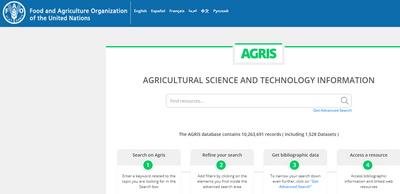 AGRIS website