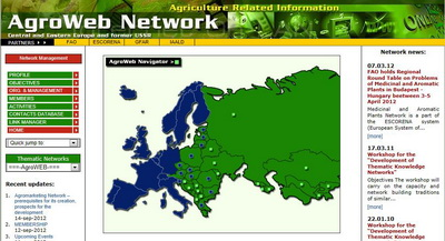 AGROWEB CEE website