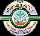 Логотип Полоцкого государственного лесного колледжа